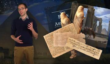 Screenshot of an evidence video on the Book of Abraham featuring David Snell.